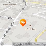 Karte GZ-Hotel Siegburg, Deutschland