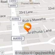 Map Hotel Sapphire Colombo, Sri Lanka