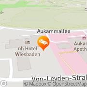 Karte NH Aukamm Wiesbaden, Deutschland