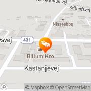 Map Billum Kro Biļļumuiža, Latvia