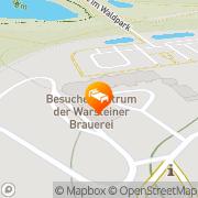 Karte WELCOME Gästehaus im Waldpark Warstein, Deutschland