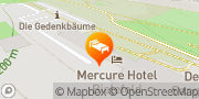 Karte Mercure Hotel Bielefeld Johannisberg Bielefeld, Deutschland