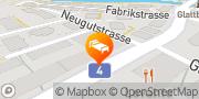 Karte DORMERO Hotel Zürich Airport Glattbrugg / Wydacker/Bettacker/Lättenwiesen, Schweiz