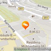 Karte Flairhotel Central Willingen, Deutschland