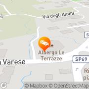 Map Hotel Le Terrazze Ispra, Italy