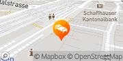 Karte Best Western Plus Hotel Bahnhof Schaffhausen, Schweiz
