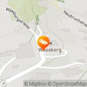 Karte Wassberg Forchheim, Deutschland