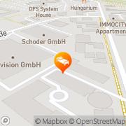 Karte ACHAT Comfort Hotel Airport-Frankfurt Langen, Deutschland
