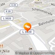 Karte Kübel Gießen, Deutschland