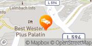 Karte Best Western Plus Palatin Kongress Hotel Wiesloch, Deutschland
