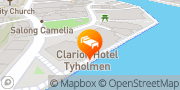 Map Clarion Hotel Tyholmen Arendal, Norway