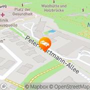 Karte Best Western Premier Park Hotel Bad Lippspringe, Deutschland
