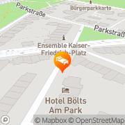 Karte Hotel Bölts am Park Bremen, Deutschland