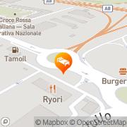 Map UNA Hotel Malpensa Cerro Maggiore, Italy