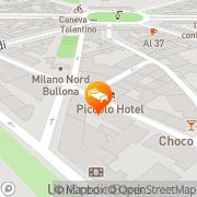 Map Piccolo Hotel Milan, Italy