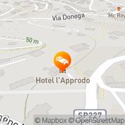 Map Hotel L'Approdo Rapallo, Italy