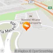 Map Novotel Milano Linate Aeroporto Milan, Italy
