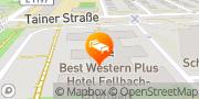 Karte Best Western Plus Hotel Fellbach-Stuttgart Fellbach, Deutschland