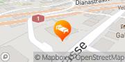 Karte Radisson Blu Hotel, St. Gallen St. Gallen, Schweiz