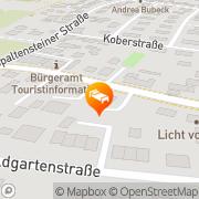 Karte Koenigsaecker Friedrichshafen, Deutschland