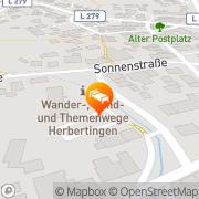 Karte Bürgermeisteramt Herbertingen, Deutschland
