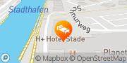 Karte H+ Hotel Stade Stade, Deutschland