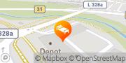 Karte Comfort Hotel Friedrichshafen Friedrichshafen, Deutschland