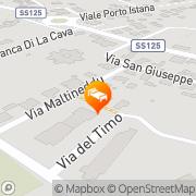 Map Hotel Daniel Olbia, Italy