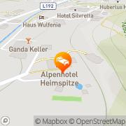 Karte Alpenhotel Heimspitze Sankt Gallenkirch, Österreich