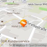 Karte Hotel Löwen Schruns Schruns, Österreich