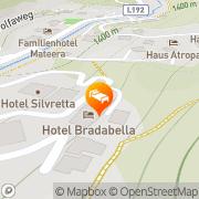 Karte Bradabella Hotel Sankt Gallenkirch, Österreich