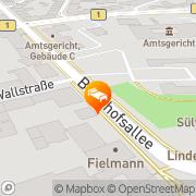 Karte Novotel Hildesheim Landkreis Hildesheim, Deutschland