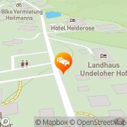 Karte Undeloher Hof Undeloh, Deutschland