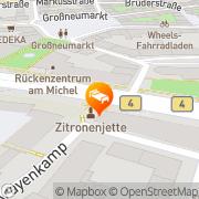 Karte Motel One Hamburg am Michel Hamburg, Deutschland