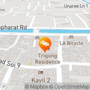 Map Charcoa House & Cozy Hotel Chiang Mai, Thailand