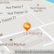 Map Baan Duangkaew Resort Hua Hin, Thailand