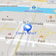 Map McAfee Activate Canary Wharf, United Kingdom