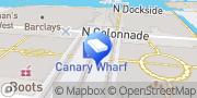 Map Business Plan Writers UK Canary Wharf, United Kingdom