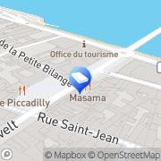 Carte de Cache Cache Saumur, France
