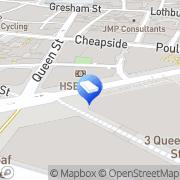 Map Carpet Bright UK - Crystal Palace Square Mile, United Kingdom