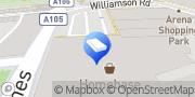 Map Carpetright Harringay, United Kingdom