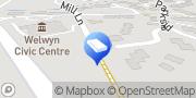 Map Welwyn Locksmiths  Welwyn, United Kingdom