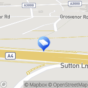 Map Safestore Self Storage Chiswick Chiswick, United Kingdom