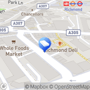 Map Stopgap Richmond upon Thames, United Kingdom