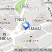 Map Roofcare London Surbiton, United Kingdom