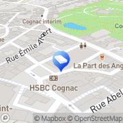 Carte de Benoist Jean-Christophe Cognac, France