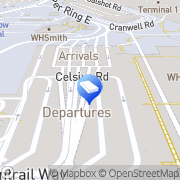 Map Regus Express - Heathrow, Terminal 2 Hounslow West, United Kingdom