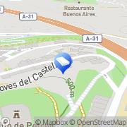 Map Alberto Soriano Reforma, SL Petrer, Spain