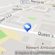 Map Bird & Co Solicitors LLP Newark, United Kingdom
