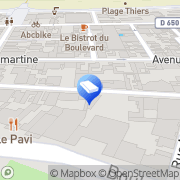 Carte de Agence Valleau Arcachon, France